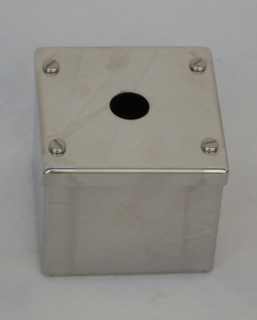 Stainless Steel Push Button Terminal & Control Enc
